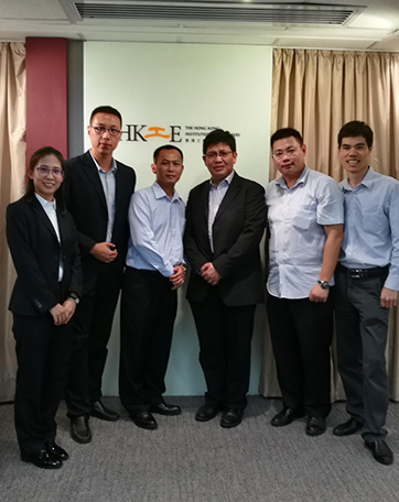Invited by HKIE with honor, Sanjiang had attended the HK Production Recommendation Meeting