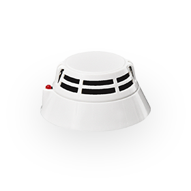 Point type multi-sensor smoke and heat detector