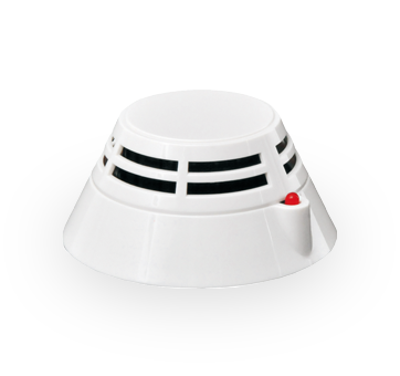 Point type photoelectric smoke detector